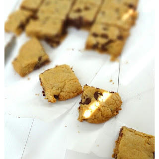 Brown Butter Blondies With Coconut