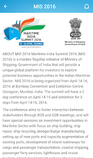 MARITIME INDIA SUMMIT- screenshot thumbnail