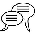 UDP Broadcast Chat icon