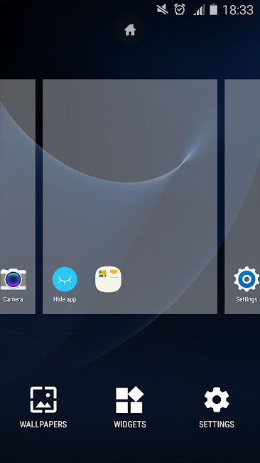 #4. S7 Launcher -Galaxy S7 launche (Android)