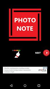 Photo Note - náhled