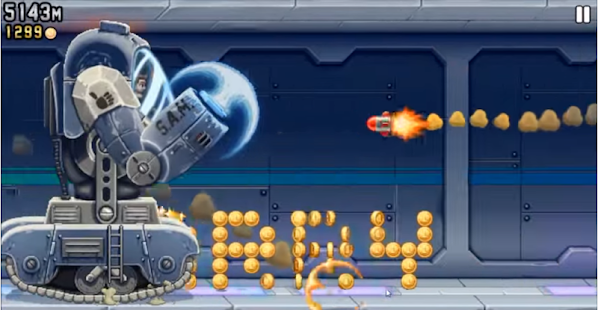 Jetpack Joyride : Cheats and Tips - náhled