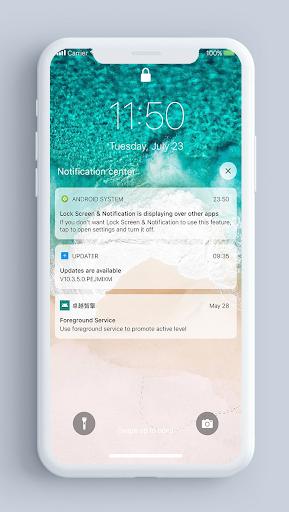 Lock Screen & Notifications iOS 13 2.2.2 Screenshots 1