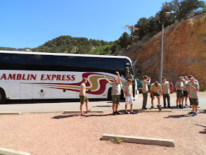 Photo: Unloading at Cave of the Winds