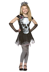 Skelettklänning, barn