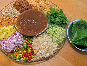 Photo: miang kum ready to be served