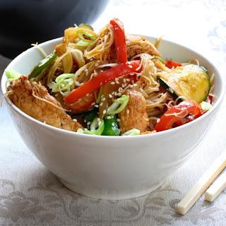Garlic Chicken Stir-Fry.