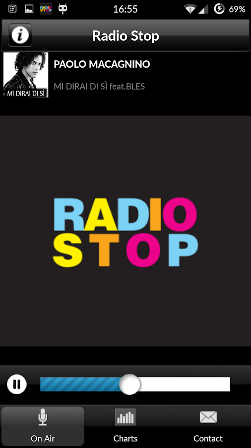 Radio Stop - la radio Pop- screenshot