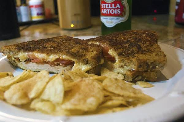 Smoked Chicken Panini With Bacon And Cheese Recipe