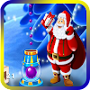 Bubble Shooter 3D Santa Claus