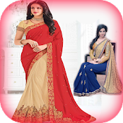 Woman Saree Suit Photo Frames: Girls Image Maker