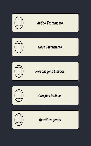 O jogo de perguntas bíblia  screenshots 2