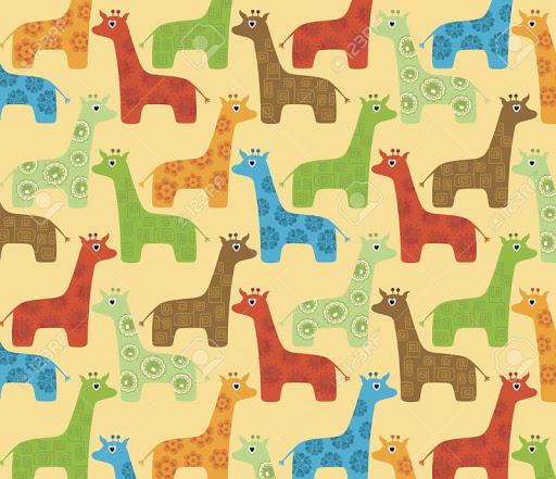 Giraffe Vector Live Wallpaper
