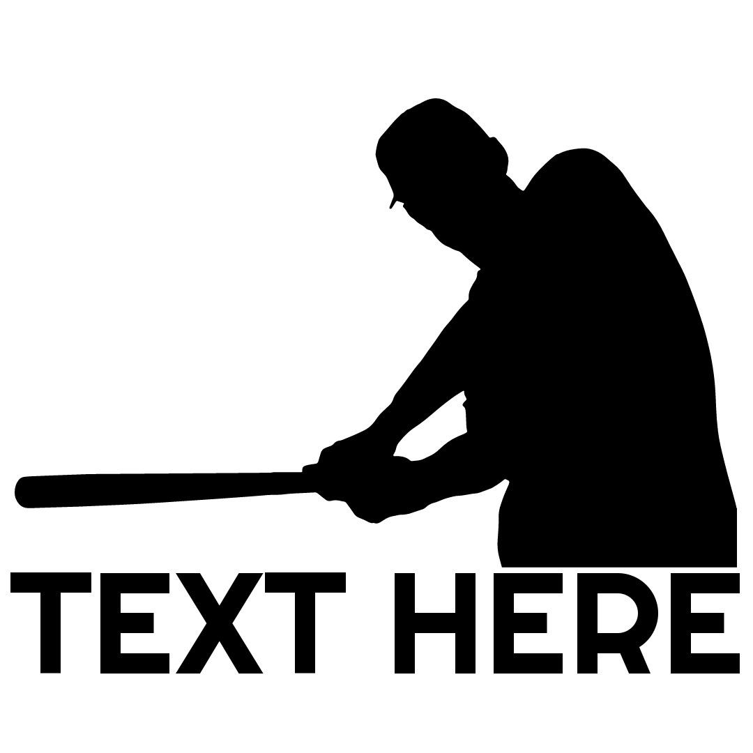 baseball logo hit