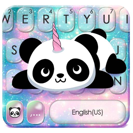 Kawaii Unicorn Panda Keyboard Theme Icon