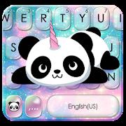 Kawaii Unicorn Panda Keyboard Theme