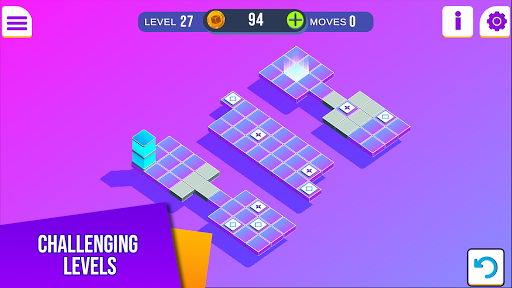 Bloxorz: Brain Game  screenshots 1