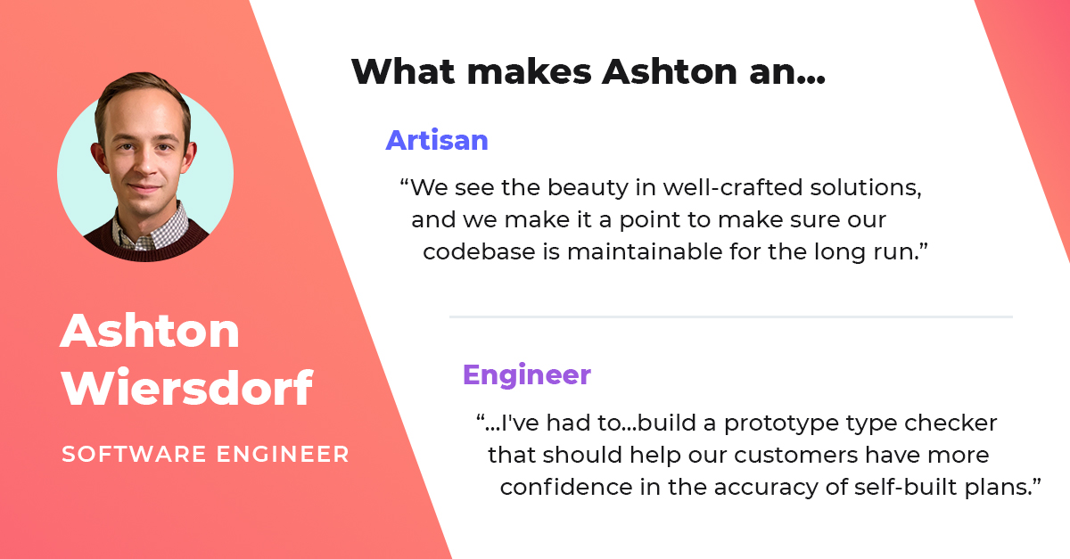 ashton wiersdorf software engineer