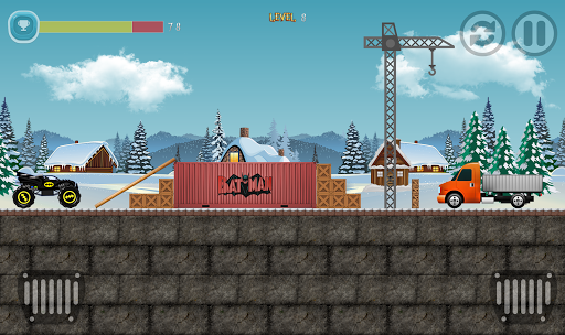 Monster Truck unleashed challenge racing  screenshots 1