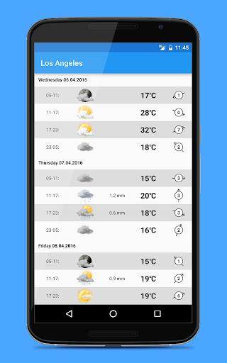 Weather widgets screenshot 7