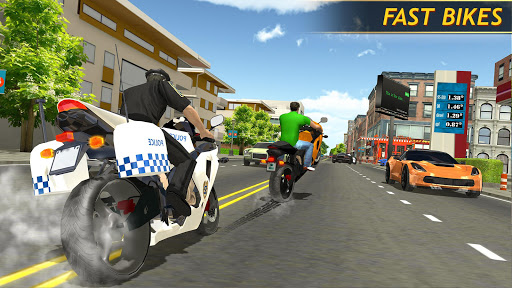 Police Bike Racing Free 1.6 Cheat screenshots 1