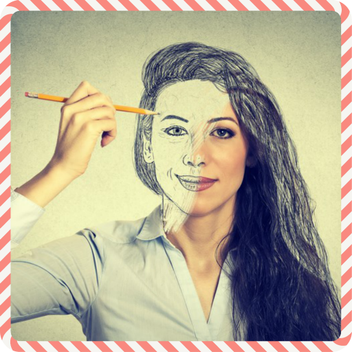 Drawing Hair Tutorial 遊戲 App LOGO-硬是要APP