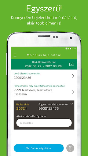 Elmű-Émász EnergiApp screenshot 2