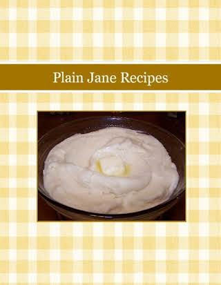 Plain Jane Recipes