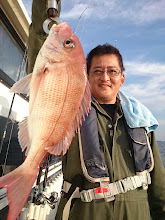 Photo: 真鯛キャッチでした!