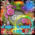 Mensagens de Bom dia, Boa tarde, Boa Noite GIF icon