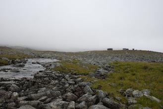 Kuva: Tauon jälkeen matka jatkui kohti Urtaslaaksoa, Lossun tupa jäi odottamaan tulevia vierailujani