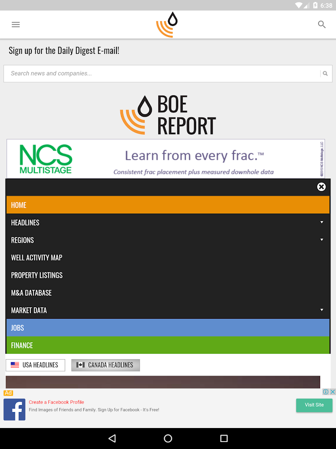 BOE Report- screenshot