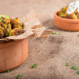 Courgette Fritters in the Air Fryer Recipe
