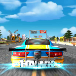 Dragster Car Traffic Racer Icon
