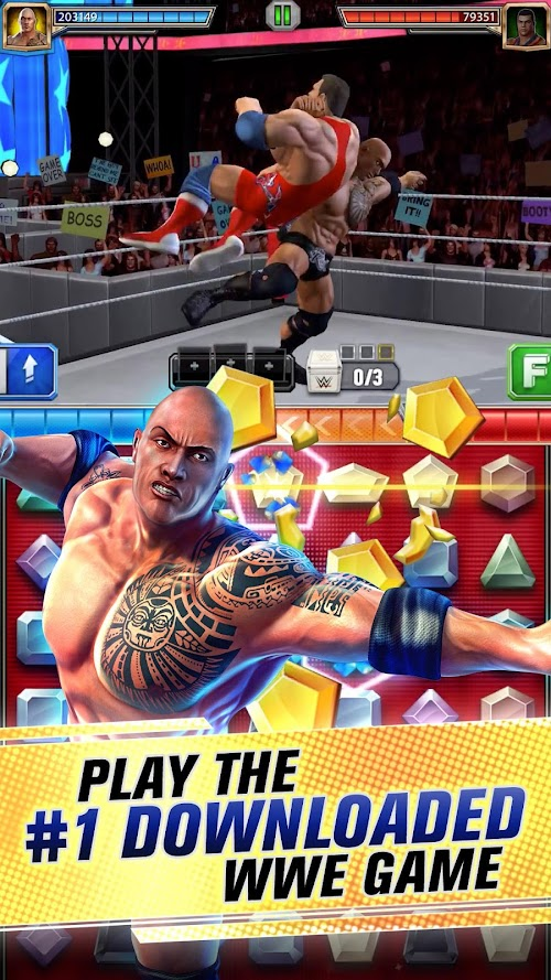 Screenshot 1 WWE Champions 2019 0.375 APK MOD