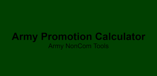 Promotion Calculator - Apps on Google Play