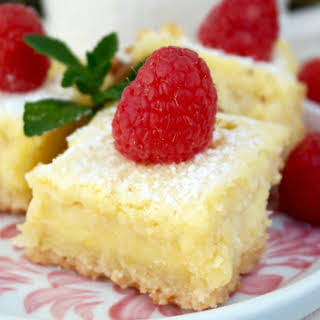 Lemon Bars {Low Carb & Gluten Free}.