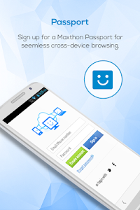 Maxthon Web Browser - Fast v4.5.9.3000
