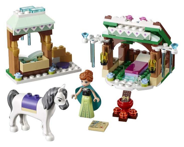 Contenido de Lego® 41147 Aventura en la Nieve de Anna