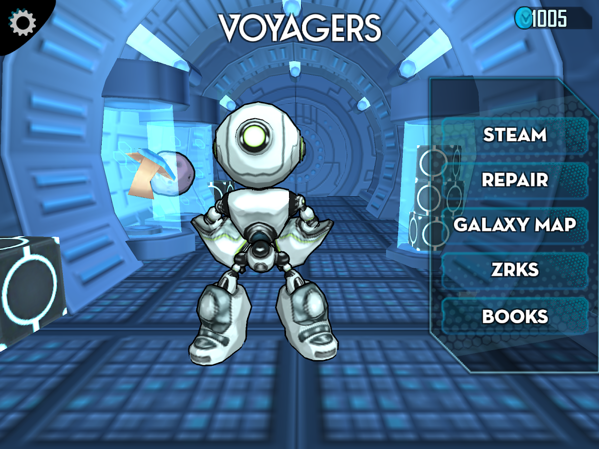 Voyagers- screenshot