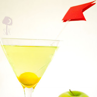 A Hole In One Appletini.
