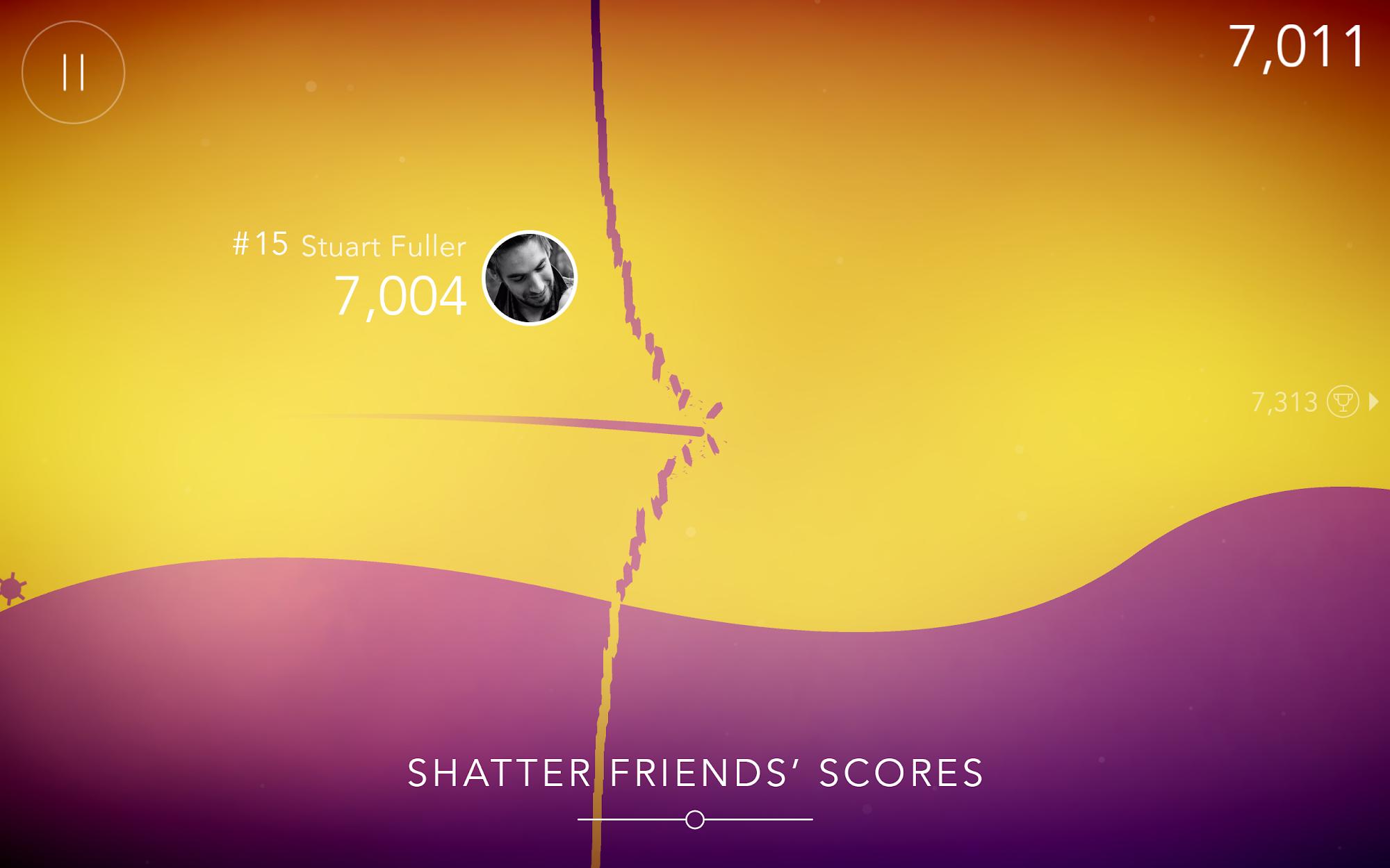 FLO Game - Free challenging infinite runner screenshot #1