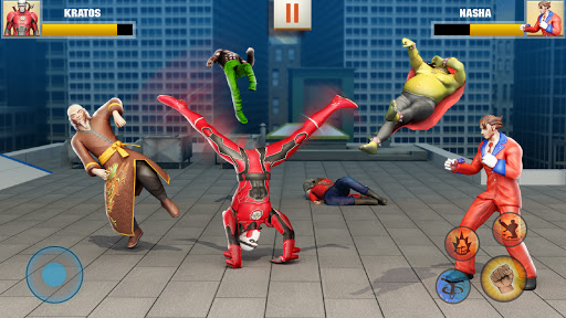 Ninja Superhero Fighting Games: City Kung Fu Fight  screenshots 1