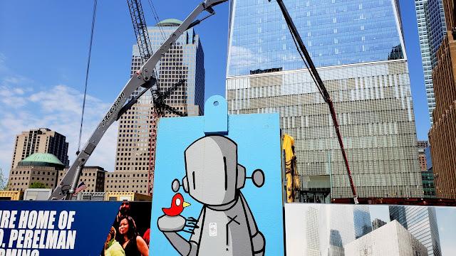 WTC street art