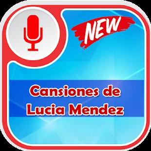 Lucia Mendez de canciones apk screenshot 2