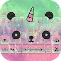 Cuteness Panda Keyboard Theme -  Cute Emojis,Gifs icon