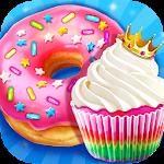 Rainbow Princess Bakery - Make Cupcake & Donut Icon