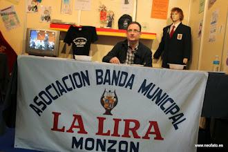 "Photo: Monzón: II Feria de Asociaciones. Asoc. Banda Municipal ""La Lira"""