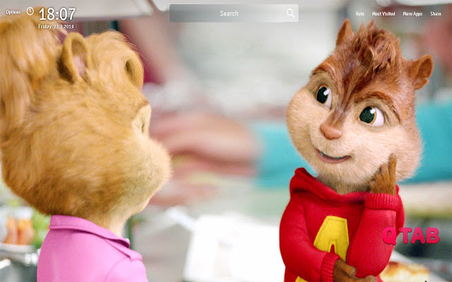 Alvin and the Chipmunks Wallpapers New Tab