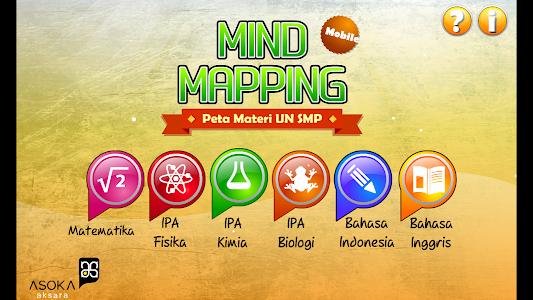 Mind Mapping Materi UN SMP screenshot 1
